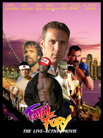 Fatal Fury Live Action Poster by BlueWolfRanger95