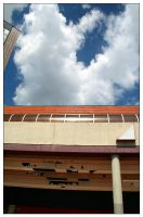 Architecture composition + sky by velenux