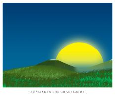 Sunrise in the Grassland by DeadSet