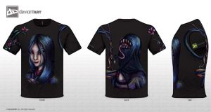 Futakuchi-onna T-Shirt by Ai-Don