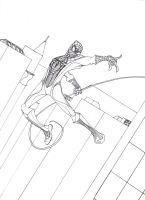 Amazing Spider-Man inks by ConstantM0tion