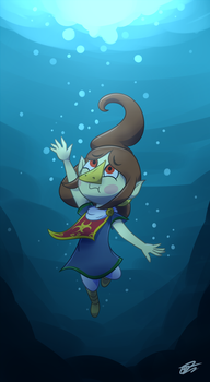 Comm: Medli can't float.. by UWDR-64