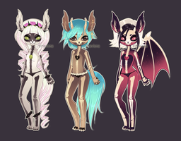 Skullbits [Adoptables] CLOSED by Siraviena