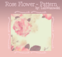 +Rose Flower - Pattern by LuliWazowski