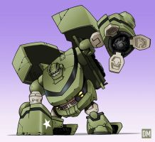 Bulkhead - Color by DanielMead