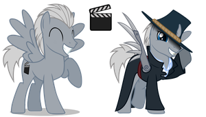 MLP OC: Silver Lining by MattX16