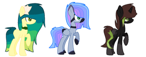 Pony Adoptables by Amazing-Max