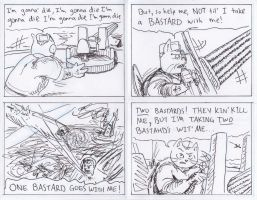 Dick the WWII Cat-Snake-Monster by joshthecartoonguy