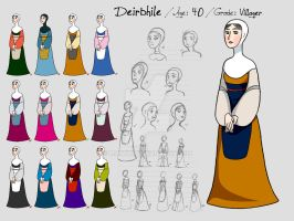 Reference Sheet -Deirbhile by MayVig