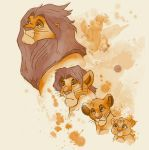 The Stages of the King Threadless Submission by sponzar