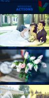 Wedding Photoshop Actions I by ViktorGjokaj