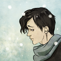 sad and cold by Yanae