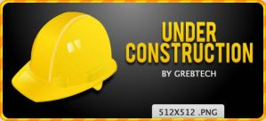 Under Construction Dock Icon by grebtech
