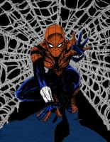 Spidergirl color by RBWP-BRPW