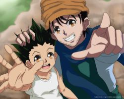 Ging x Gon by Arsaria