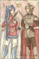 Two Kings by IlliorMoon