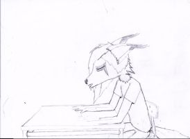 TIME LINE PROJECT 4 - Cypherus Sleeping in Class by Consequential-Rebel