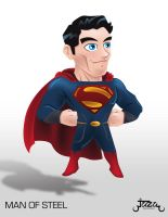 Man Of Steel in vectors by JaZaDesign