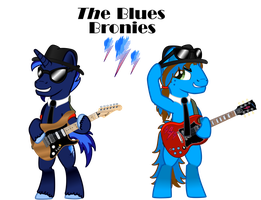 The Blues Bronies by crackinglazer