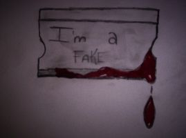 im a fake by o0RuNaWaYfRoMe0o