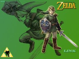 Legend Of Zelda Wallpaper by dsx100