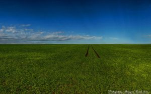 Blue,and green.Hungarian landscapes. HDR-picture by magyarilaszlo