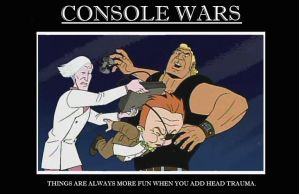 """""""Console Wars"""" by Felseed"""
