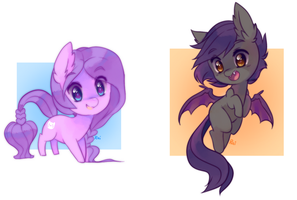 chibi pony batch 2 by pekou