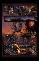 DARK AGE #1, Sample Page 4 - COLORS by Theamat