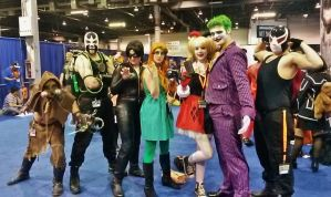 Gotham Villains 1 ACen 2015 by Teddy-sol
