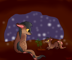A Small Christmas Gift by iW-O-L-F