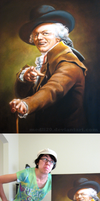 Joseph Ducreux reproduction by medli20