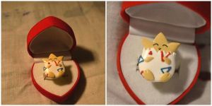 Togepi ring - FIMO by N0XATI