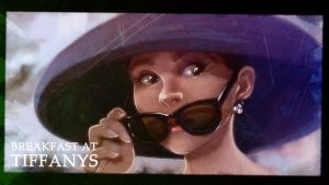 Breakfast at tiffanys - Audrey hepburn by LucThijssen