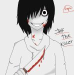 Jeff The Killer by AngieCreativeWorld