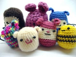 Crochet guys by philippajudith