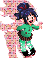 Vanellope by Irgo-Time