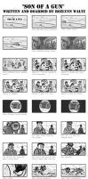 Son of a Gun - Storyboards - Part 1 by RozlynnWaltz