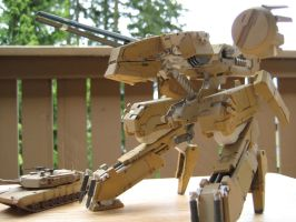 Metal Gear Rex Desert Camo Model 11 by Jinyol