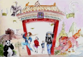 Adventures in China by aletia