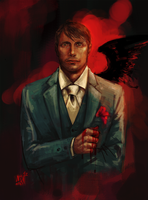 Hannibal by Moonlight-Mage-Shiro