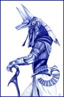 Anubis from Star Gate by immanuel