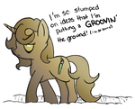 ATG: Day Two: I've Dug This Pun in Too Deep by Knadow-the-Hechidna