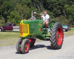 Oliver Tractor by Maggiesdaisy