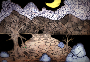 Cave by rubbe