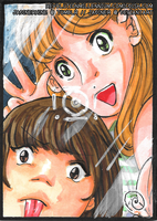 This is how selfies work, right? ATC by JadineR