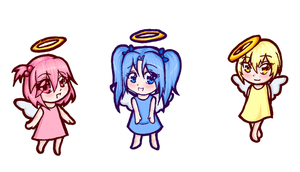 Cute little angels by Mifmemo