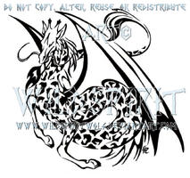 Giraffe Dragon Logo by WildSpiritWolf