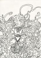 Carnage Mind Bomb Lines by GRIDALIEN