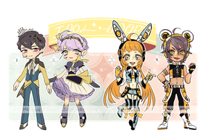 Idol Adopt auction batch CLOSED by Kaiet